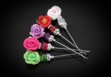Mini Sparkle Rose Modest Hijab pins